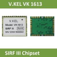V.KEL VK1613 GPS module,SIRT III, SIRF 3 Chipset, GPS Tracker, GPS Receiver, RoHS, 32 Channels., 1.6CM*1.31*0.24