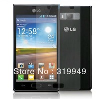 High Quality Clear LCD Screen Protector Film With Retail Package For LG Optimus L7 P700 P705 Free Shipping DHL UPS HKPAM