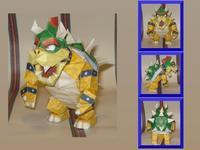 3D paper model - Super Mario - big devil Kuba Koopa