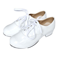 Men's adult child general white aluminum tap dance shoes tap dance shoes tap shoes