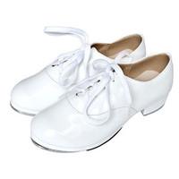 Men's adult child general white aluminum tap dance shoes tap dance shoes tap shoes