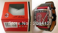 AC MILAN FC SOCCER NEW FASHION WRIST WATCH #07