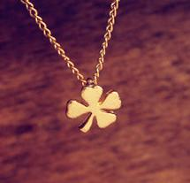 MOQ$15 Free Shipping European jewelry lucky leaves necklace clavicle chain pendant charm necklace jewelry UN002-1(China (Mainland))