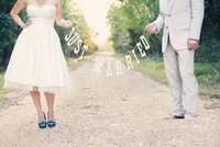 "2013 New Arrival "" JUST MARRIED"" WEDDING BUNTING"