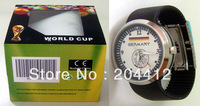 GERMANY DEUTSCHLAND SOCCER WRIST WATCH black band