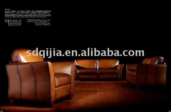American style best selling antique leather sofa furniture(China (Mainland))