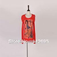 2013 The factory clerance wholesale fashion cotton t-shirt