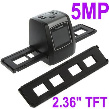 5MP 35mm USB Mini Portable LCD Digital Film Converter Slide Negative Photo Scanner Office Electronics Supplies , Free Shipping