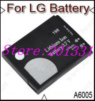 Free shipping battery for LG mobile phone KG198 CG180 KG160 KG270 KG275 KG278(China (Mainland))