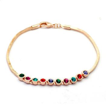 Italina Rigant Austrian Crystal bracelet/wedding jewelry/ crystal jewelry With Austrian Crystal Stellux #RG31327