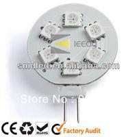 AC/DC12v G4 6SMD RGB Color Changing LED Light Bulb