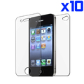 10x Clear Full Body Front and Back Screen Protector for iphone 4 4S(China (Mainland))