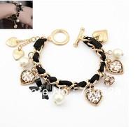 Beaded Love Knot Bracelet