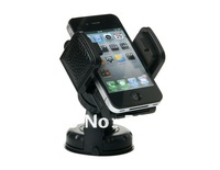 Free shipping + Universal Car Mount Holder for MP3 MP4 PDA Phones GPS (Black)