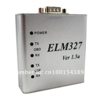 Newest version ELM327 USB 1.5a,ELM327 USB (Aluminum Case)