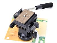 Free shipping YT- 950 Professional Photography YUNTENG DSLR Hydraulic pressure Fluid Tripod Head