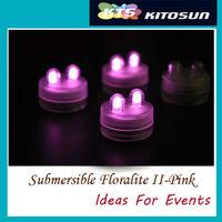 Underwater  wedding & party battery light ,Pink light