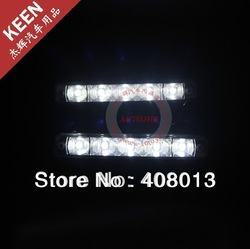 FREE SHIPPING CAR-Specific For Skoda Octavia Fabia LED DRL Fog Light Led Daytime Running Light(China (Mainland))