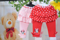 2013 Free Shipping,minnie kids pants girls clothing cartoon clothes minnie mouse pantskirt whoesale 5pcs/lot