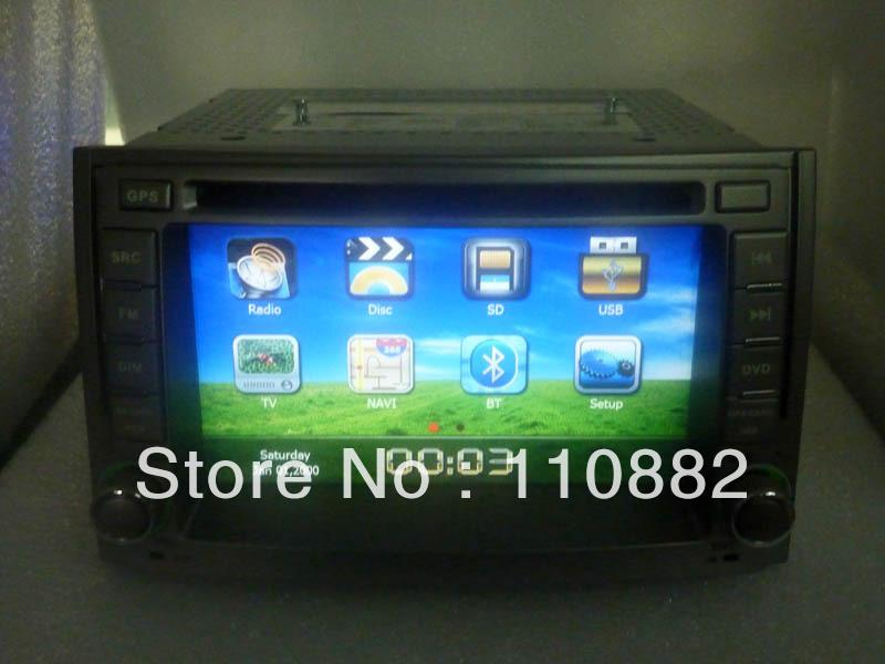 Hyundai H1 6.2inch car dvd with gps free shipping free rear camera and TF card.(China (Mainland))