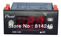Free shipping  ,,EW-181 H digital thermostat for heating and cooling mode temperature controller