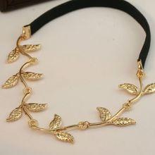 Europe romantic Olive leaf Headband Hairpin jewelry! crystal shop hair jewelry!(China (Mainland))