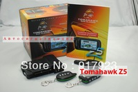 Tomahawk Z5 two way car alarm system Russian version