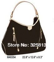 Wholesale Real Leather Monogram Canvas M40354 DELIGHTFUL GM Women Lady Shoulder Hobo Tote Bags Designer Handbags