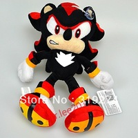 "Wholesale/Retail 2012 Free Shipping FS Sonic the Hedgehog Shadow Plush Figure Doll SEGA 10""/25.5cm"