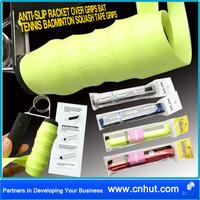 Free Shipping 50 sets green 5pcs new Anti-slip Racket Over Grips Bat Tennis Badminton Squash Tape Grips hot