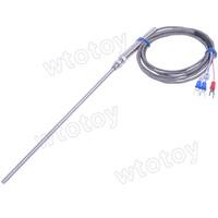 Thermocouple K Type Probe Temperature Sensors 200mmL 2M