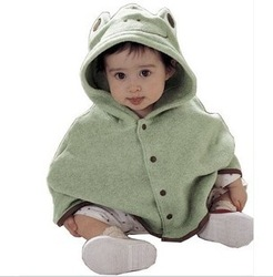 FREE Shipping Baby Cotton Romper Animal Frog Pure Color Children&#39;s Garments Clothes(China (Mainland))