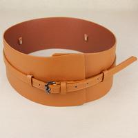 Dual-use fashion small strap buckle women's wide belt decoration belt cronyism ultra wide cummerbund xh-jd