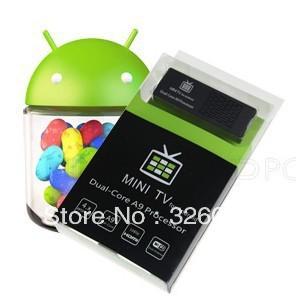 MK808 Android 4.1 Jelly Bean Mini PC google smart tv box android 4 .0  Rk3066 Cortex A9 HDMI 1080P media player dongle