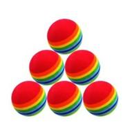 GOLF Rainbow Foam Practice BALLS golf accessories golf ball 20PCS/LOT FREE SHIPMENT