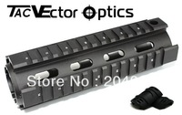 Free S&H AR 15 M4 Handguard Carbine Length Picatinny Quad Rail Mount System Free 12-Pack Covers