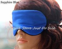 Free shipping 100% silk eye masks/ Mulberry Silk Fitted Sleeping Eye Mask,Sleep Eyemask-Ivory Color/ls0404