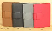 Folio PU Case for Amazon Kindle 4 4th Generation Brown (Non Touch) - 4colors 100pcs/lot