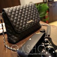 Mango women's handbag plaid chain bag   mng women's handbag  plaid chain small bag