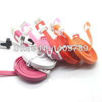 For iPhone4s Data Flat Cable For iPhone Color Cable