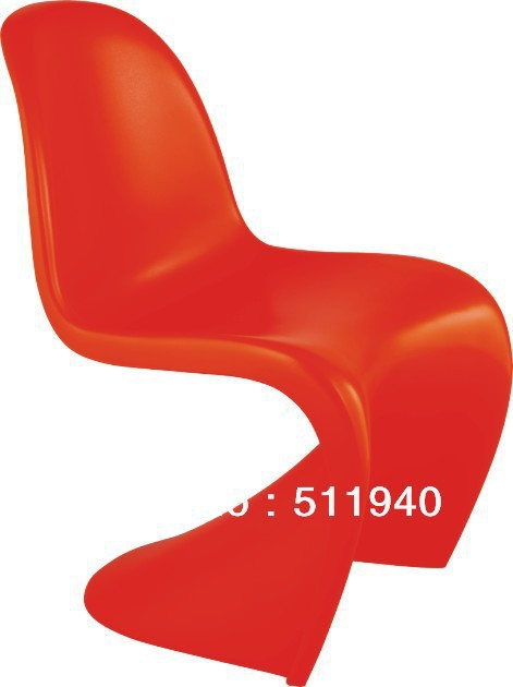 2pcs/lot X ABS kids/children Verner panton Chair, home furniture, plastic chair, leisure chair,side chair(China (Mainland))