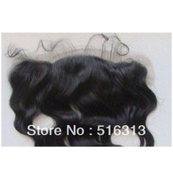 Stock Grade AAAA 10inch-20inch size 13x4 virgin peruvian multidirectional parting lace frontals body wave