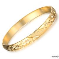Fashion  jewelry OPK 18k yellow gold jewelry star interspersion wedding man women's bracelet bangle anti-allergy kh764