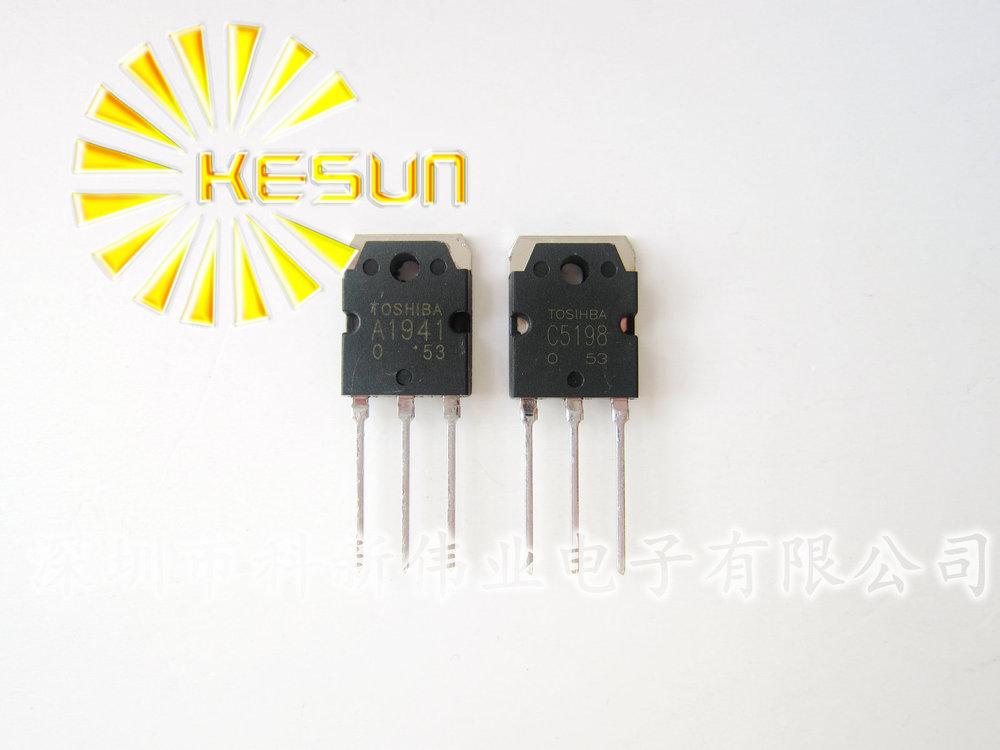 транзистор ( 5 x A1941 + 5