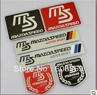 freeshipping! Wholesale Mazda 5/6 modified metal car stickers / MAZDA car standard decorative stickers