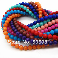 Mix Color Natural Beads for Necklace&Bracelet High Quality Rondelle Loose Beads Accessories 8mm 500pcs Free Shipping HB398