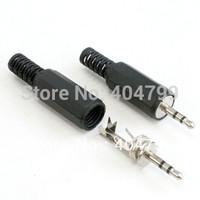 100pcs, 2.5mm STEREO JACK PLUG AUDIO SOLDER CONNECTORS,2021