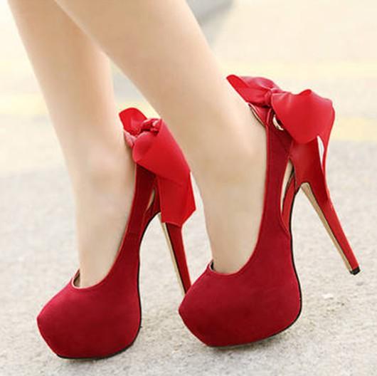 Red Heels For Girls | Tsaa Heel