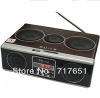 Mini Sound box MP3 player Mobile Speaker SD/USB/FM-SU12