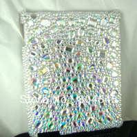 Rhinestone  Bling Crystal Hard Cover Companion Case For iPad mini